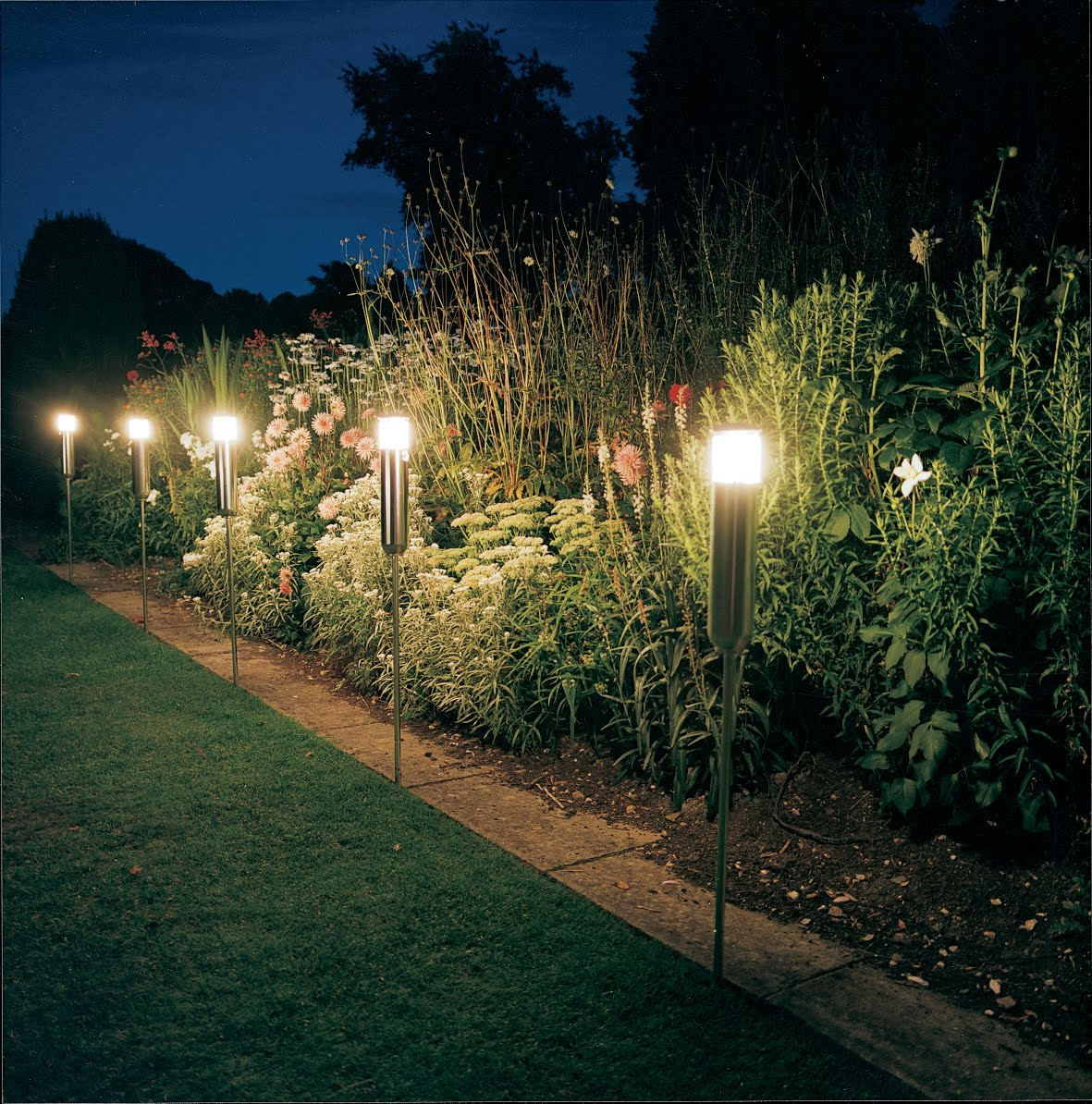 Inspiration For Garden Lighting With Creative Design Lamp